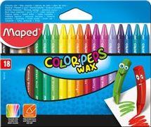 Крейда воскова COLOR PEPS Wax Crayons, 18 кол. MP.861012 (1/12/96)