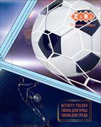 Папка для праці FOOTBALL, картонна, на гумках А4+ (300х212х28мм), KIDS Line ZB.14914 (1/5)