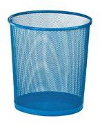 Корзина для паперів кругла 265x265x280мм, металева, синій ZB.3126-02 (1/12/240)