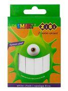 /Крейда біла квадратна 12 шт., картонна коробка, SMART Line ZB.6705-12 (1/90)