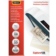 Плівка для ламінування глянсова 125мкм, 83x113мм, 100шт. f.53071 (1/10/5000)
