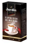 /Кава мелена JARDIN Espresso di Milano сила смаку 4 темного обсмаження 250 гр, вакум jr.109533 (