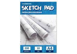 Папка для креслення А4 200 г/м2, 10 аркушів CF32009 (20)