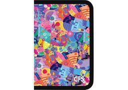 Папка пластикова на блискавці Colorfull, А4 CF32016 (1)