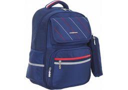 Рюкзак шкільний 16,5 жорстка ортопедична спинка. 1 відділення, 2 передніх кишені на блискавці і на магніті CF86833