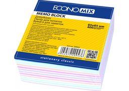 Папір для нотаток Economix, асорті 85х85, 400 арк. E20943 (1)