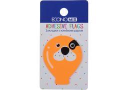 Стікери пластикові мікс, 50х40 мм, 20 шт Fun balloons E20967-03 Economix