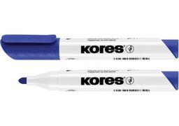 Маркер для білих дошок KORES 2-3 мм, синій K20833 (12)