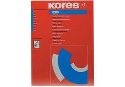 Папір копіювальний А4 TYPO Kores, 100 арк., синій K78478 (1)