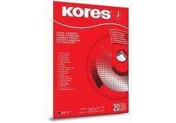 Папір копіювальний А4 TYPO/1200 Kores, 20 арк., чорний K78942 (1/10/100)