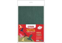 Набір дизайнерського паперу Текстиль А4(21x29,7 см), 120г/м2, 10арк, односторонній+5 арк А5 (21х14 MX61625 (10)