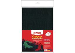 Набір дизайнерського паперу Кроко А4(21x29,7 см), 120г/м2, 10арк, односторонній+5 арк А5 (21х14,8 MX61632 (10)
