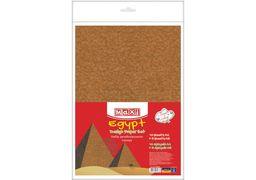 Набір дизайнерського паперу Єгипет А4(21x29,7 см), 120г/м2, 10арк, односторонній+5 арк А5 (21х14,8 MX61633 (10)