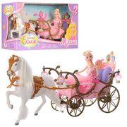 Карета с лошадью, 52 см, кукла 29 см, в коробке 56-30-19 см