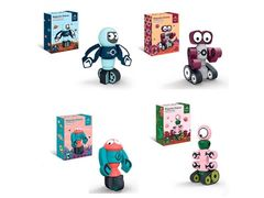 Конструктор магнітний, робот, 7 дет., 5 видів, в коробці 19*5*15