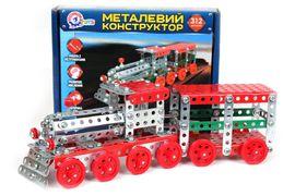 Конструктор металевий Потяг ТехноК