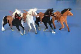RUS Лошадь 618 В мире животных 9 флок., 3в., кул., ш.к. /120/, арт. 618 (шт.)