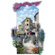 Декупаж на полотні Пейзаж Венеція 20*40 см