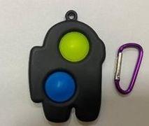 Іграшка антистрес брелок Simple Dimple AMONG US
