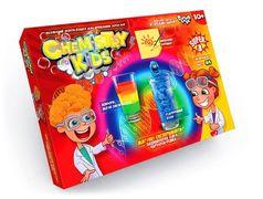 Безпечний освітній набір для проведення дослідів CHEMISTRY KIDS, економ, рос.