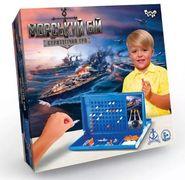 Настільна розважальна гра Морський бій укр
