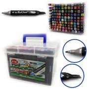 Набір скетч маркерів 120 кольорів зі скошеним та тонким накінечником TouchCool Josef Otten DSCN0229-120