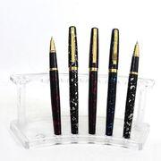 Ручка капілярна металева синя 0.7 мм Baixin RP 608