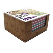 Папір для нотаток 75х70х40 мм непроклеєний. Асорті кольорів. Щільність 80 г/м2. в картонному боксі Стильні коти Josef Otten CQ-6623 (6/60)