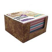 Папір для нотаток 75х70х40 мм непроклеєний. Асорті кольорів. Щільність 80 г/м2. в картонному боксі Букети Josef Otten CQ-6647 (6/60)
