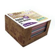 Папір для нотаток 75х70х40 мм непроклеєний. Асорті кольорів. Щільність 80 г/м2. в картонному боксі Вулиця Josef Otten CQ-6661 (6/60)