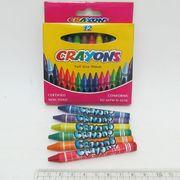 8496-12 Мелки восковые Crayons, набор 12 цв. 0,9*80мм, без этикетки (72)