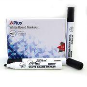 Маркер для білих дошок 1-5 мм клиноподібний чорний A+Plus Beifa BY231601 (12/144/864)