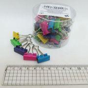 DSCN5235-19 Биндер 19мм Цветные пастель банка с этикеткой (40)