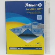 8469-BL-2 Бумага копиров. синяя, А-4, 100 листов (8649-BL) 2 сорт (5/50)