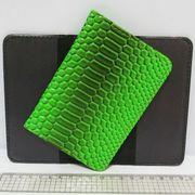 P-7225-23 Обложка для паспорта Змея зелен. (10)