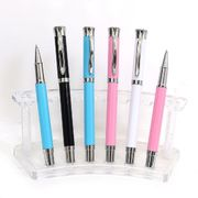 Ручка капілярна металева синя 0.7 мм Baixin RP 202