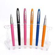 Ручка капілярна металева синя 0.7 мм Baixin RP 904