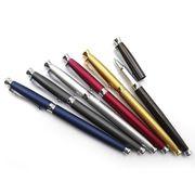 Ручка капілярна металева синя 0.7 мм Baixin RP 988M