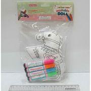 10483 Игра-творчество Раскрась игрушку Лошадка +стирающиеся маркеры (1)