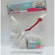 10488 Игра-творчество Раскрась игрушку Бабочка +стирающиеся маркеры (1)