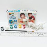 11447 Детское творчество Раскрась игрушку Dinosaur 2шт/уп, mix (12)