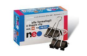 Біндер 15 мм 12 штук в упаковці Neo line 3600