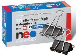 Біндер 25 мм 12 штук в упаковці Neo line 3603