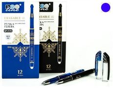 Ручки гелевые пиши-стирай GP-3176 син, 0.5mm.,Neo Line (12/1728)