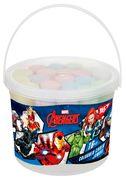 Крейда кольорова 16 шт, в відрі JUMBO Marvel Yes