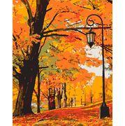 Картина по номерах 40х50 см Золота осінь 953841 Santi