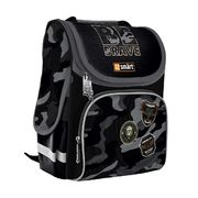 Рюкзак шкільний каркасний Be Brave! PG-11 Smart, ортопедична спинка, система кріплення лямок, світловідбиваючі елементи