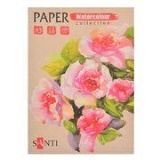 Акварельний папір А3, 12 аркушів, щільність 200 г/м2 Paper Watercolour Collection Santi