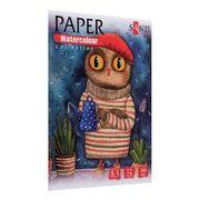 Акварельний папір А3, 12 аркушів, щільність 200 г/м2 Wonderland Paper Watercolour Collection Santi