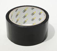 Клейка стрічка пакувальна чорна, товщина 0,04 мм
